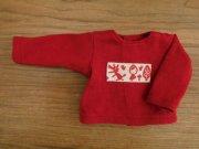 カットソー 長袖 赤ずきんちゃんモチーフ 28cmサイズ