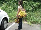 ハワイアンファブリックバッグ-フラシスターHS0001