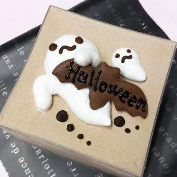 Halloween☆スクエアケーキ