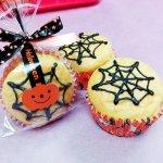 Halloween★クモの巣マフィン