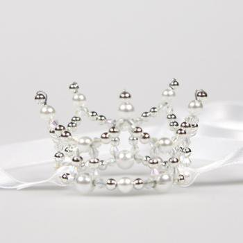 Simple mini Crown【White】