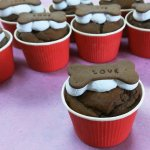 Miniキャロブカップケーキ