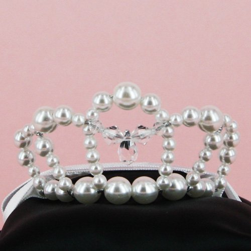 Princess swaro Tiara 【White】