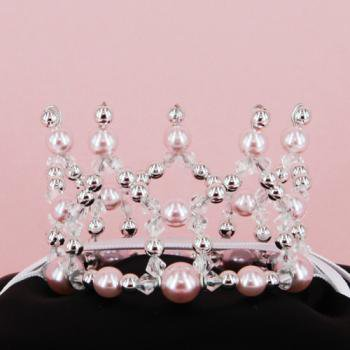 Simple mini Crown【Pink】