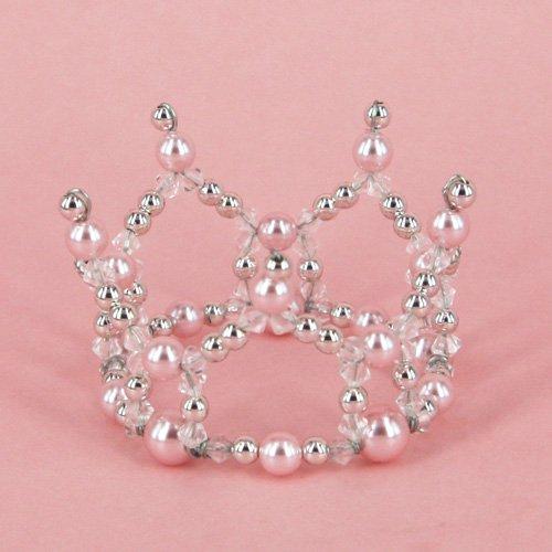 Simple mini Crown【Pink】