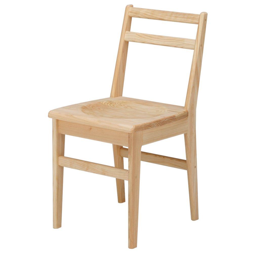ライトチェア|軽い椅子|木製椅子/リビング/ダイニング|ひのき無垢 ...