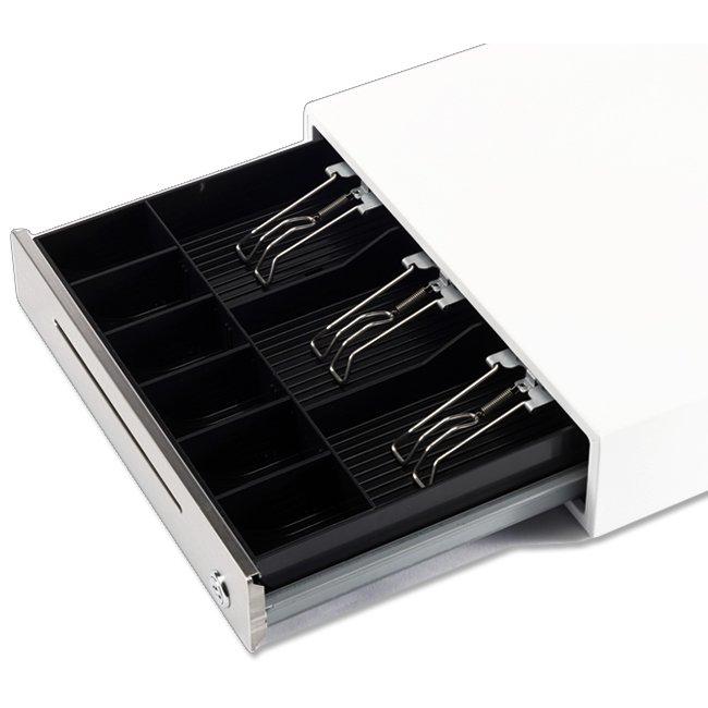 エフケイシステム キャッシュドロア DKD(6ピンモジュラー)接続 ホワイトの画像