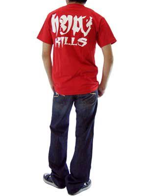 【SALE】ゴライアス キルズ S/S Tシャツ レッドの画像