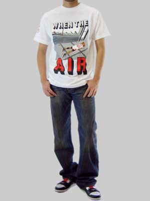 【SALE】ゴライアス ウェン ザ エアー S/S Tシャツ ホワイトの画像