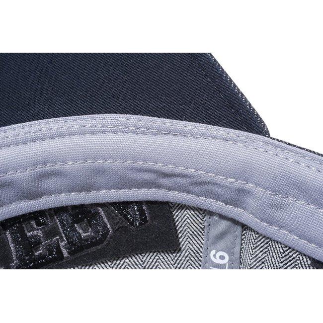 ニューエラ 920キャップ オン パー ゴルフ ヘリンボーンデニム ブラック ヘリンボーンデニム ブラック ダークグレー ブラックの画像