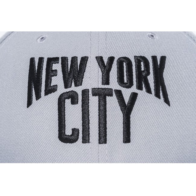 ニューエラ 5950キャップ ツートーンボディ ニューヨークシティ グレー ブラック ブラック ブラックの画像