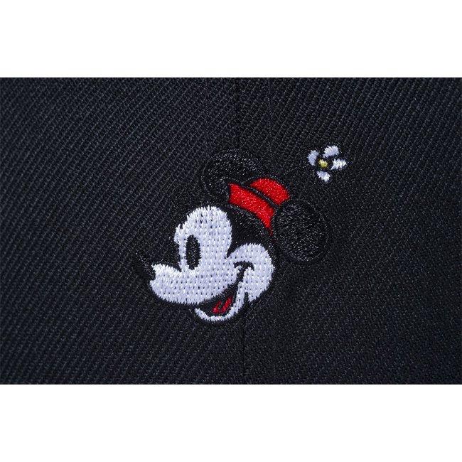 ディズニー×ニューエラ 5950キャップ マルチロゴ ミニー ブラック ブラック スノーホワイト ブラック ラディアントレッド ムーンビーム スノーホワイトの画像