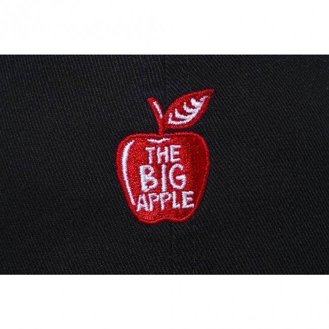 ニューエラ 920 クローズストラップ キャップ ザ ビッグ アップル ブラック ラディアントレッド スノーホワイトの画像