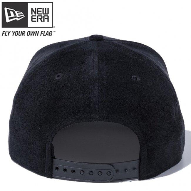 ニューエラ 950 スナップバック キャップ マルチブラック フェイクレザー ブラックスエード ブラッククロコダイル ブラックメタルプレート ブラックの画像
