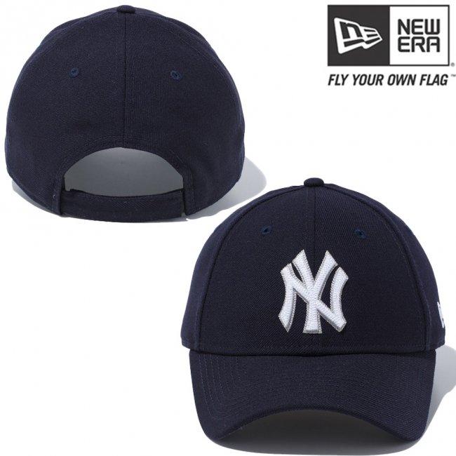 ニューエラ 940キャップ MLB カスタム デザイン ニューヨークヤンキース ネイビー スノーホワイト クラウド スノーホワイトの画像