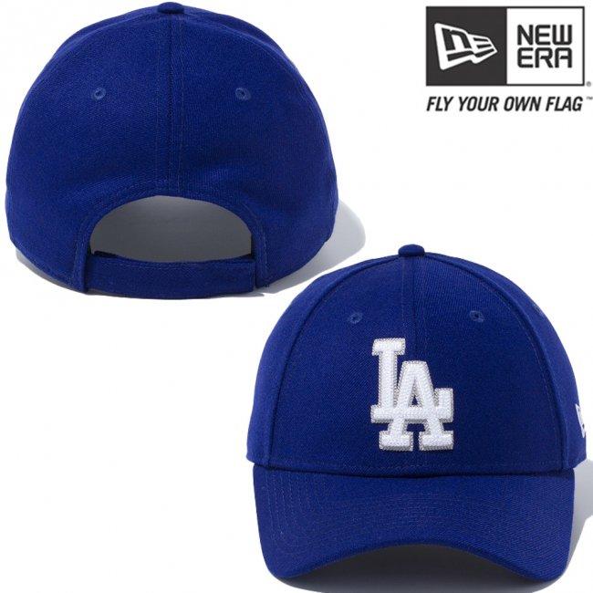 ニューエラ 940キャップ MLB カスタム デザイン ロサンゼルス ドジャース ダークロイヤル スノーホワイト クラウド スノーホワイトの画像