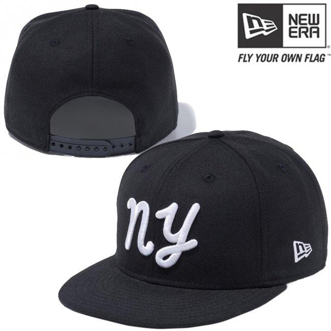 ニューエラ 950 スナップバック キャップ ペン ニューヨーク NY ブラック スノーホワイトの画像