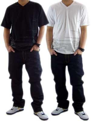 エーケーオーオー (ア キング オブ ワンセルフ) ソーン ワーズ S/S Tシャツ キャビア,ホワイトの画像