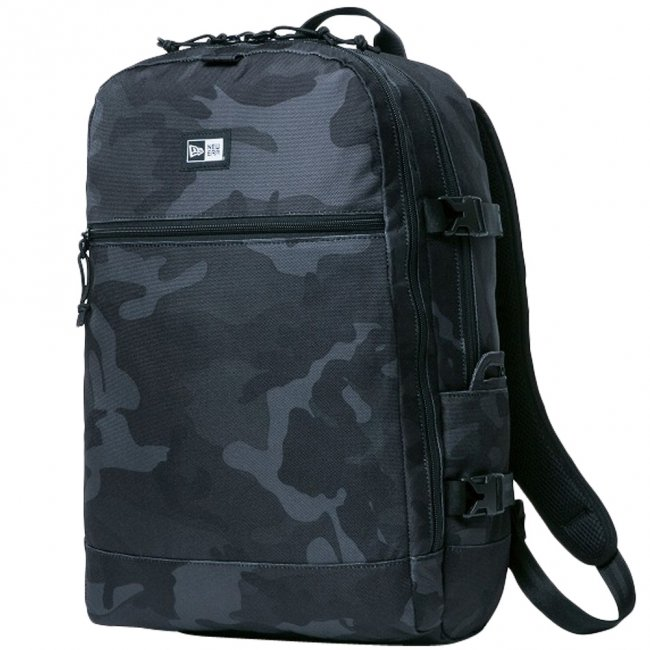 ニューエラ バッグ リュックサック スマートパック ウッドランドカモブラック ブラック ホワイトの商品写真