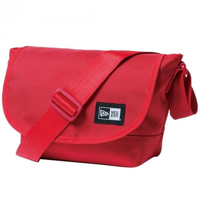 ニューエラ バッグ ショルダーバッグ ミニ レッド ホワイトの商品写真