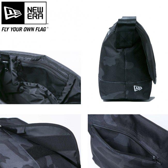 ニューエラ バッグ ショルダーバッグ ウッドランドカモブラック ブラック ホワイトの画像