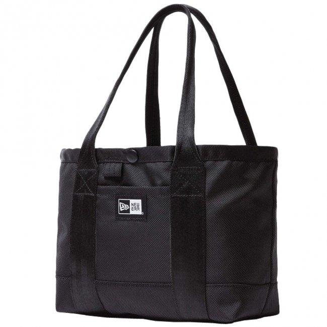ニューエラ バッグ トートバッグ ミニ ブラック ホワイトの商品写真