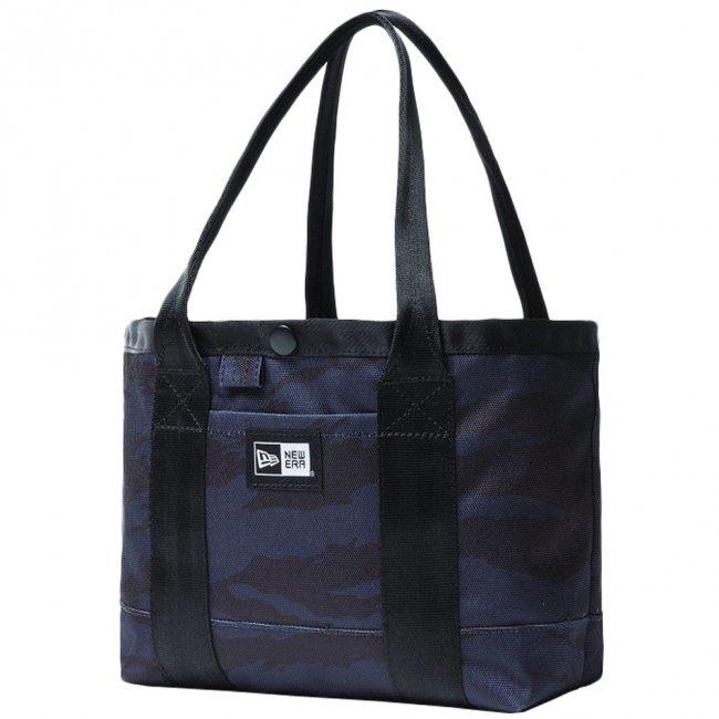 ニューエラ バッグ トートバッグ ミニ タイガーストライプカモネイビー ブラック ホワイトの商品写真