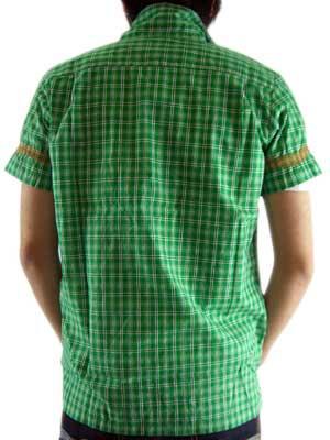 ヌーディージーンズ S/S シャツ ジョアン グリーンの画像