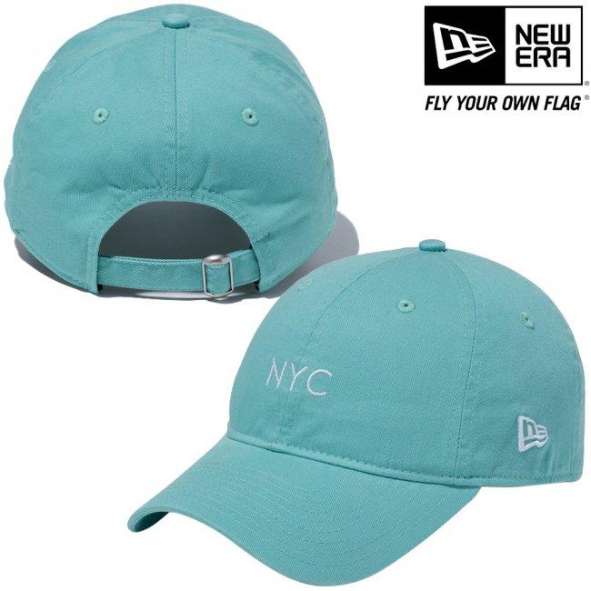 ニューエラ 920キャップ クローズストラップ パステル ニューヨークシティ NYC クリアミント スノーホワイトの画像
