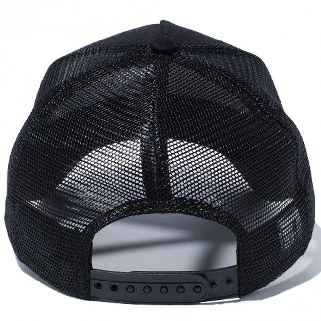 ハローキティ×ニューエラ 940キッズキャップ エーフレームトラッカー ニューヨークシティ NYC ブラック ブラックメッシュ ブラック ブラック スノーホワイト ラディアントレッドの画像