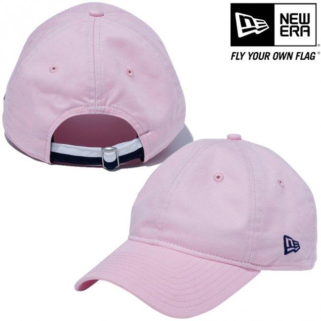 ニューエラ 920キャップ クローズストラップ ツートーンカラーストラップ ピンク ライトネイビーの画像