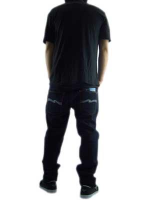【SALE】ジャンクフード S/S Tシャツ ニューヨーク ブラック ウォッシュの画像
