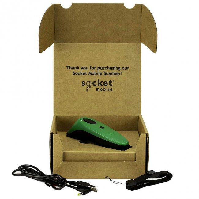 ソケットモバイル ワイヤレス 1D CCDバーコードリーダー SocketScan S700シリーズ CX3395-1853 Bluetooth接続 MFi認定 グリーンの画像
