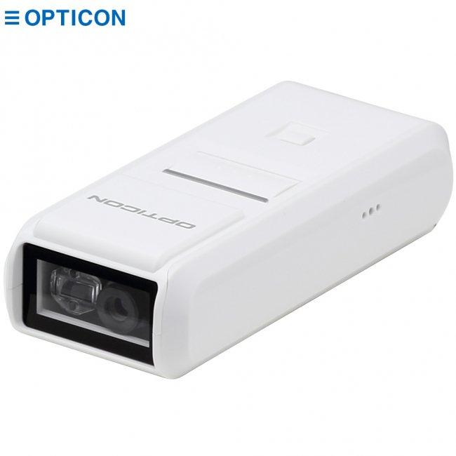 オプティコン Mobile+Oneシリーズ OPN-4000i Bluetooh ワイヤレス CCDバーコードリーダー データコレクタ ホワイトの画像