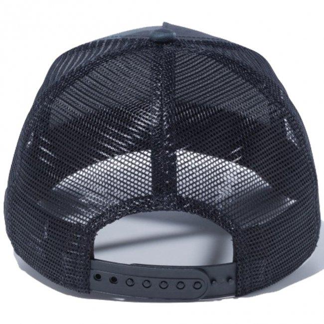 ワンピース×ニューエラ 940 スナップバック キッズ キャップ エーフレームトラッカー モンキー・D・ルフィ ミッドナイトカモ ブラックメッシュ ブラックの画像