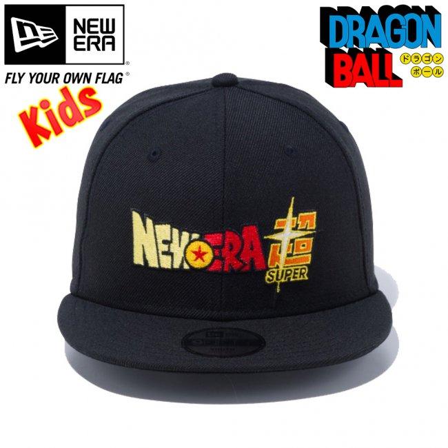 ドラゴンボール×ニューエラ 950 スナップバック キッズ キャップ ニューエラスーパー ブラック マルチカラー スノーホワイトの画像