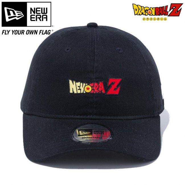 ドラゴンボールZ×ニューエラ 930キャップ クローズストラップ ニューエラZ ブラック マルチカラー スノーホワイトの画像