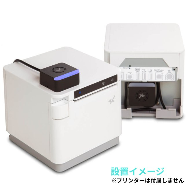 スター精密 メロディースピーカー mC-Sound MCS10 mC-Print3シリーズ対応 ブラックの画像