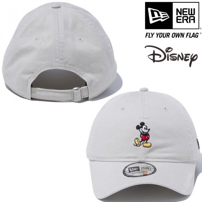 ディズニー×ニューエラ 9THIRTY キャップ クローズストラップ スタンディング ミッキーマウス ミニ ストーン オフィシャルカラー ブラックの画像