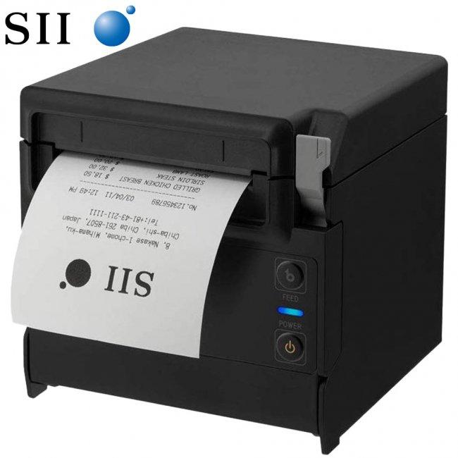 セイコーインスツル 据え置き型感熱式プリンター RP-F10シリーズ RP-F10-K27J1-3 Ethernet接続 ブラックの画像