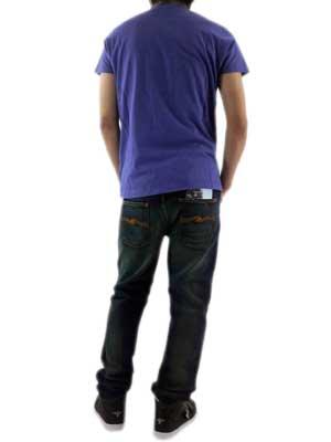 【SALE】フランクリンアンドマーシャル S/S Tシャツ ジャージー ラウンド ネック ショート インクの画像