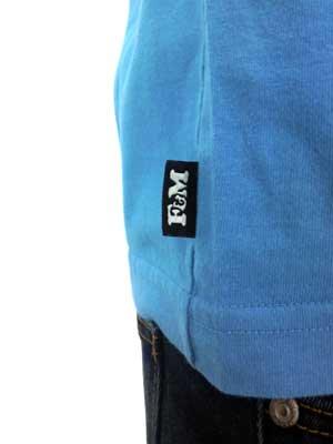 【SALE】フランクリンアンドマーシャル S/S Tシャツ ジャージー ラウンド ネック ショート マウイ ブルーの画像