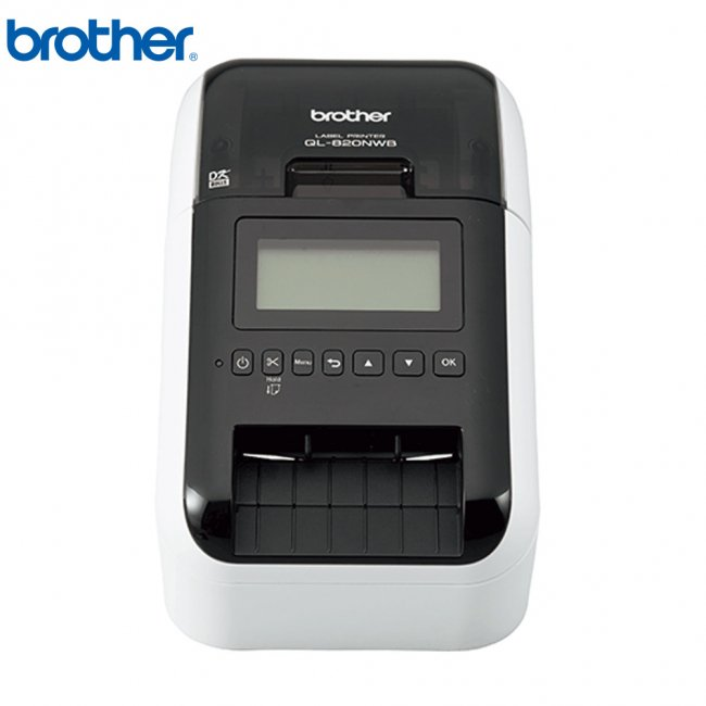 ブラザー 感熱ラベルプリンター QL-820NWB USB Bluetooth接続 ホワイトの画像