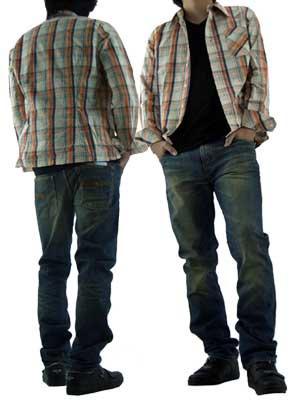 ヌーディージーンズ シンフィン ロー ヨーク シン スキニー レッグス オーガニック ユーズド ティントの画像