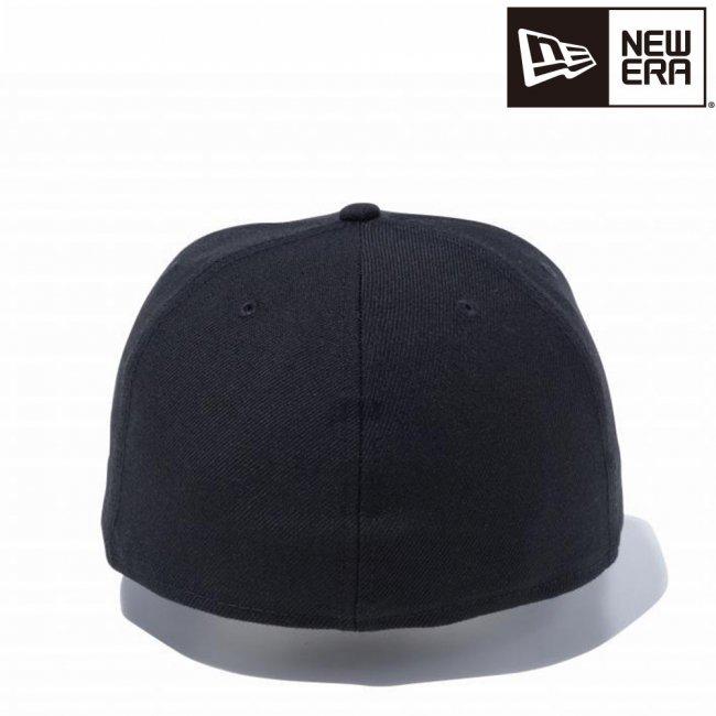 ニューエラ 59FIFTY ベーシック ブラック ブラックフラッグの画像