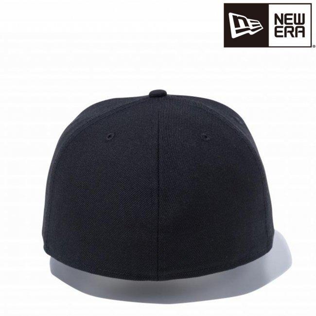 ニューエラ 59FIFTY ベーシック ブラック ホワイトフラッグの画像
