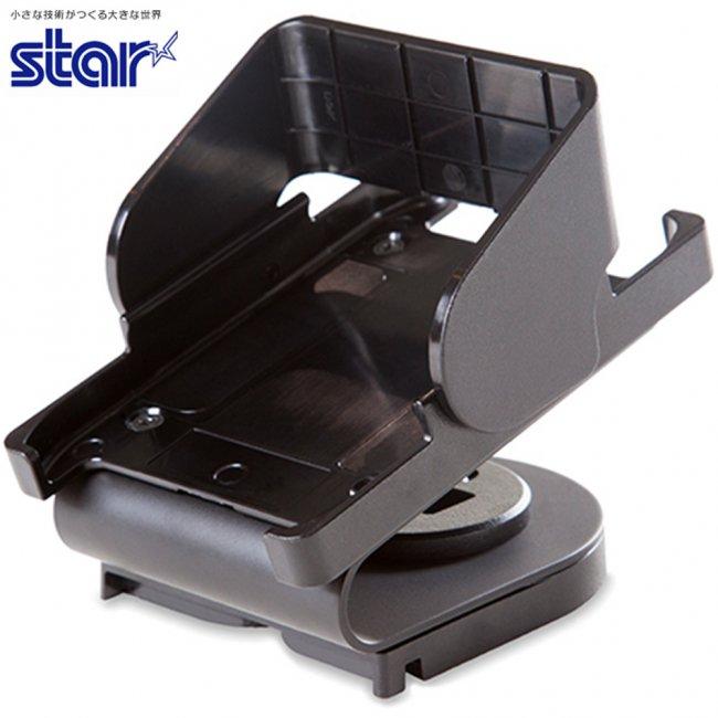 スター精密 Miura M010専用 決済端末スタンド mC-Print2対応 mC-Stand MCST-P111 BK ブラックの画像
