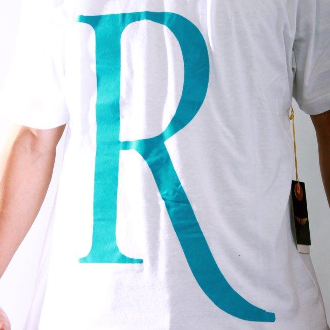 【SALE】リッチヤング S/S Tシャツ RY-F10-52 ホワイト ターコイズの画像