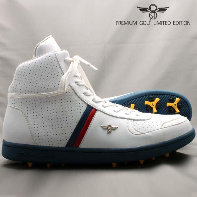 クリエイティブ レクリエーション GCR92HI30  ミラノ ハイ ゴルフ リミテッド ホワイト ネイビー レッド
