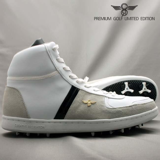 クリエイティブ レクリエーション GCR92HI30  ミラノ ハイ ゴルフ リミテッド ホワイト ベイパー ブラック